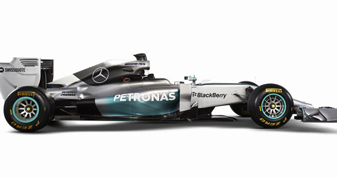 mercedes w05 1 The Mercedes W05 is Finally Unveiled