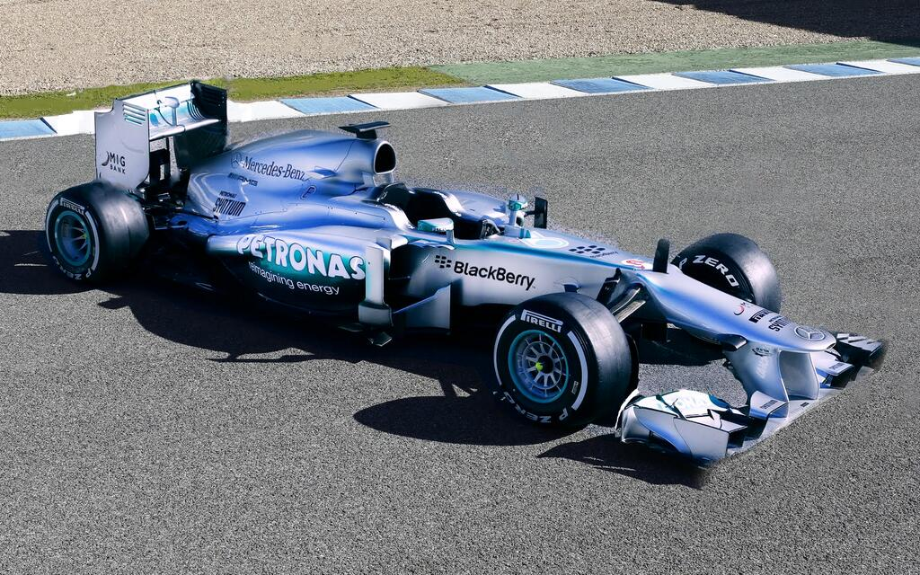 mercedes w05 Mercedes W05 will Make its Debut on First Day of Testing at Jerez