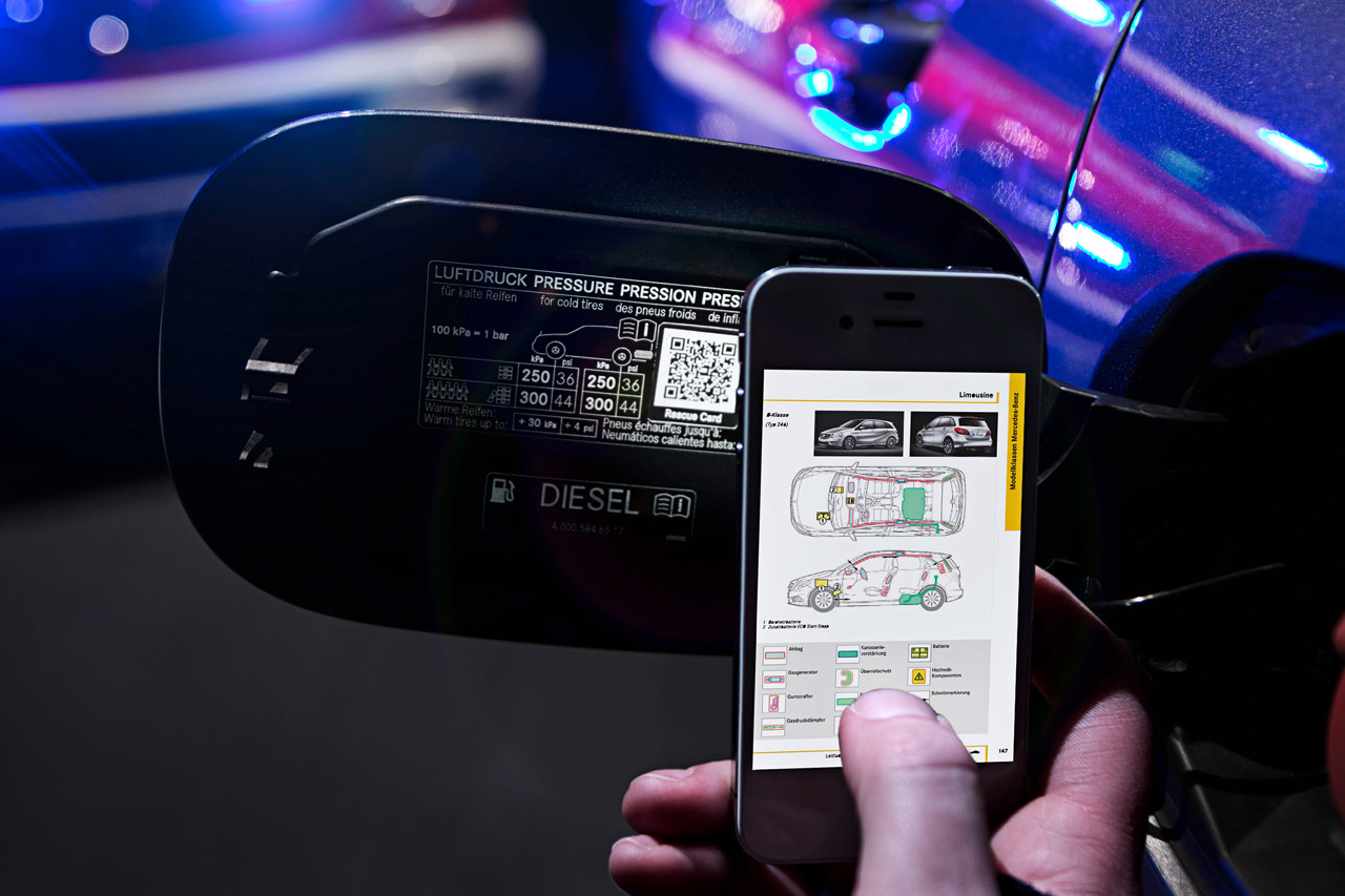 qr codes Mercedes Seriously Pushes for QR Codes Integration in All Its Vehicles