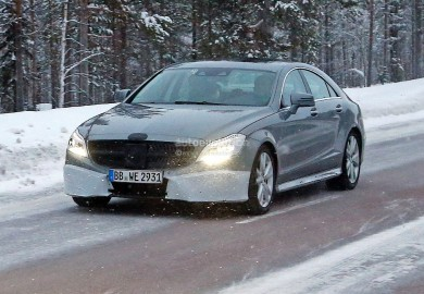 New Spy Images Of 2015 Mercedes-Benz CLS Emerge