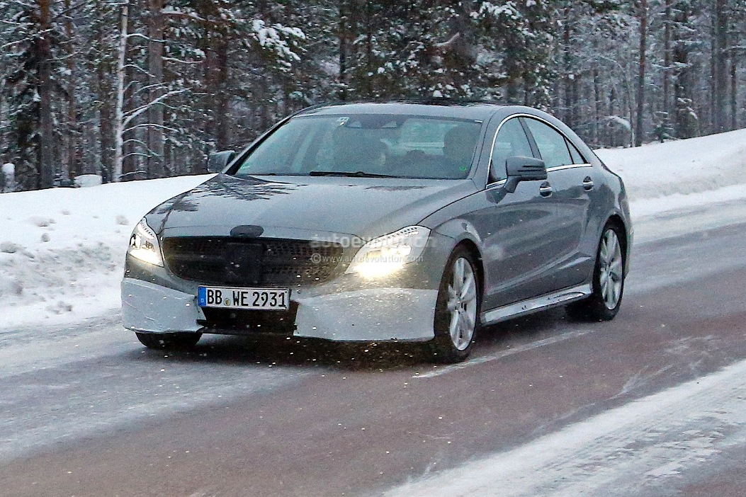 1 New Spy Images Of 2015 Mercedes Benz CLS Emerge