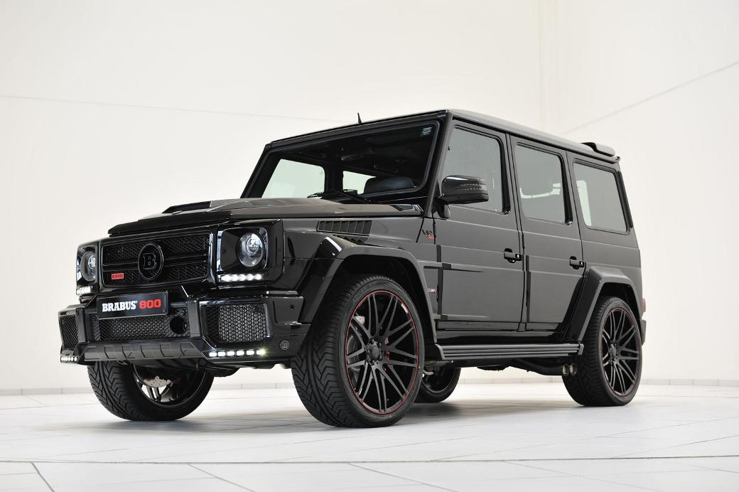 14 Mercedes Benz G65 AMG Enhanced By Brabus