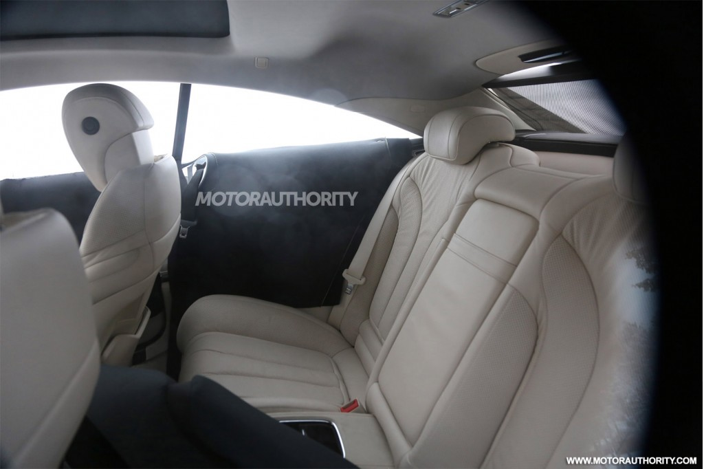 2015 Mercedes-Benz S-Class Coupe Interior 2