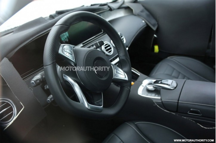 2015 Mercedes-Benz S-Class Coupe Interior 3