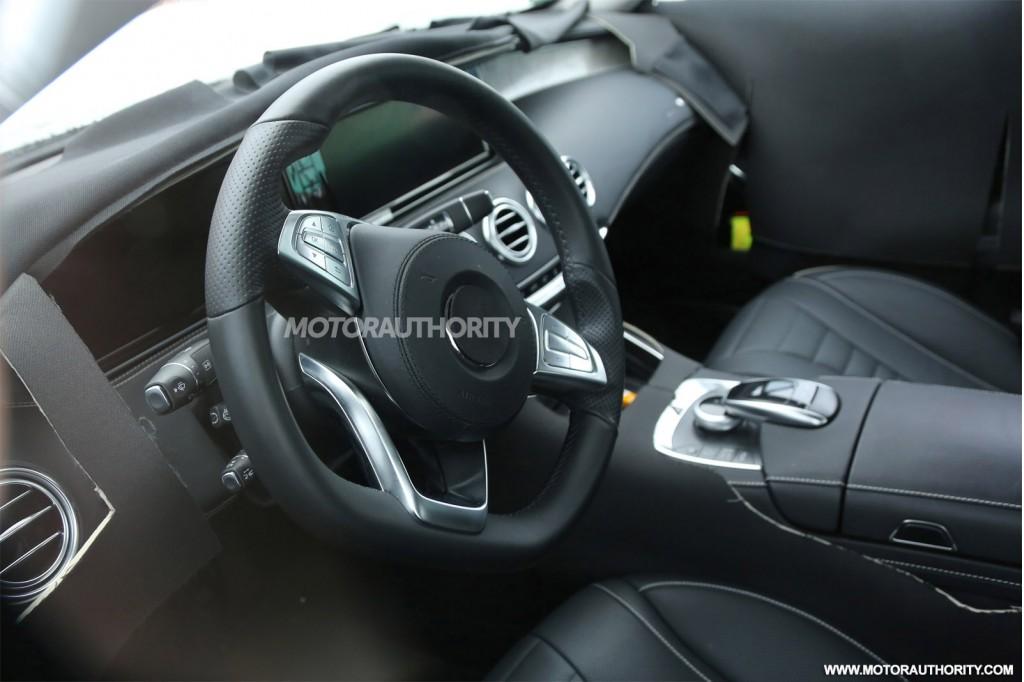2015 Mercedes Benz S Class Coupe Interior 3 Benzinsider