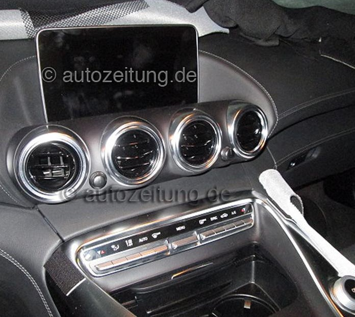 2015 Mercedes AMG GT Interior Leaked