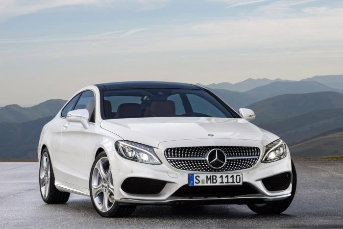 2015 mercedes c class coupe Four Door Mercedes C Class Coupe Being Considered