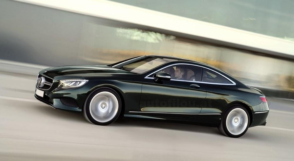 2015 mercedes s class coupe 2015 Mercedes S Class Coupe Official Photo Revealed