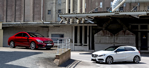 Mercedes A 45 AMG and CLA 45 AMG Mercedes AMG posts record year with 32,200 units sold