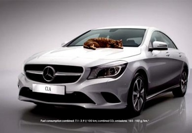 Mercedes-Benz-CLA-Cat-Commercial