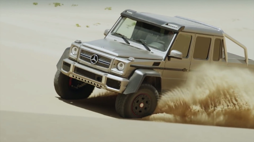 Vid Pic Mercedes Benz G63 AMG To Be Featured On Top Gear