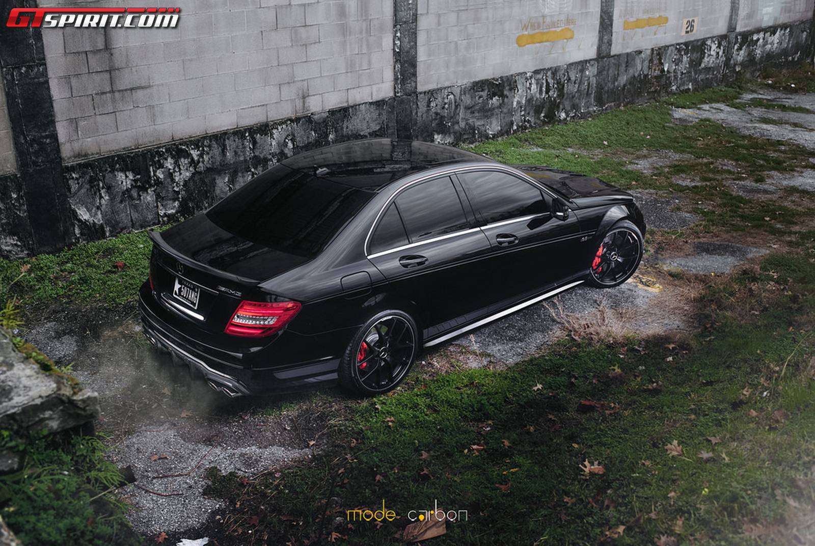 Mode carbon customizes mercedes c63 amg edition 507 for How much is a mercedes benz c63 amg