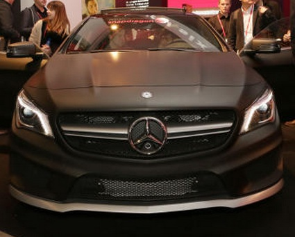 mercedes cla amg QNX Presents the Technology Used in the Mercedes CLA AMG Concept Car