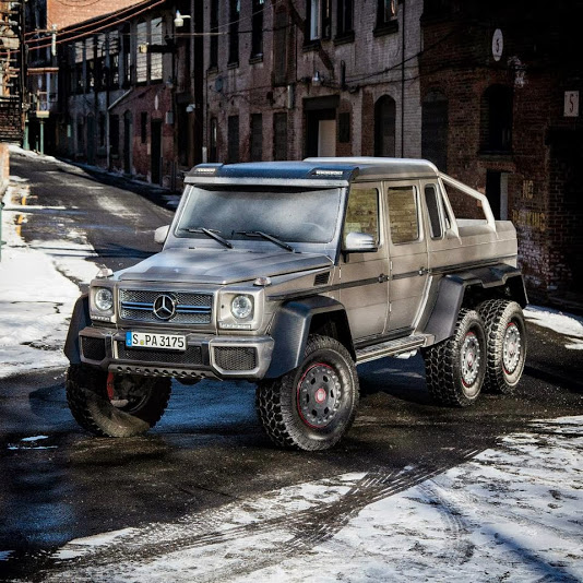 mercedes g63 amg 6x6 5 Mercedes G63 AMG 6x6 Now in the American Soil
