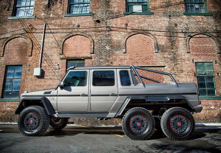 Mercedes g63 amg 6x6 now in the american soil for Mercedes benz g36 amg 6x6 price