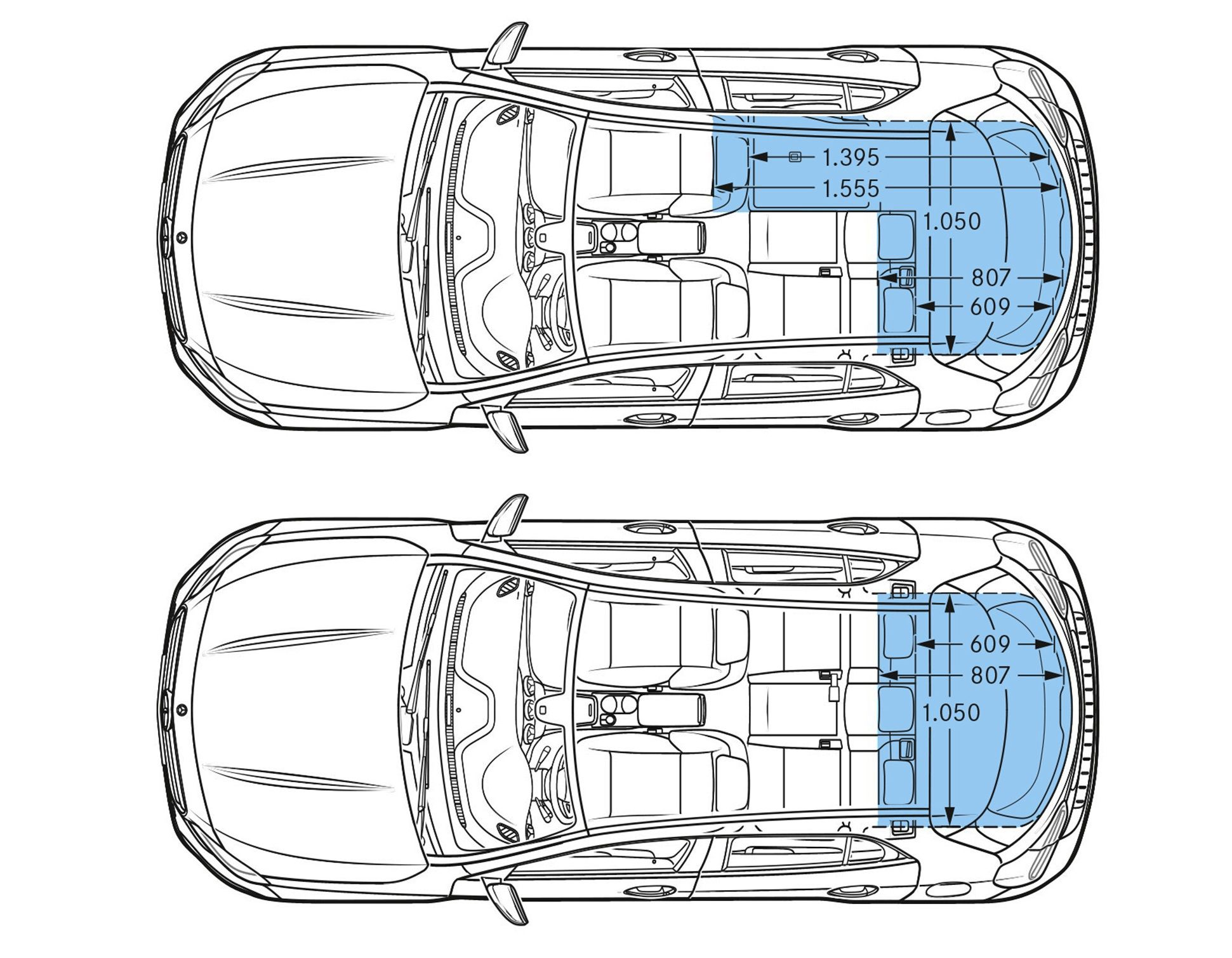 How Much Can You Load In The Compartment Of The Mercedes Gla