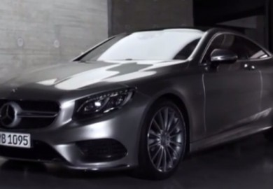 mercedes s-class coupe video