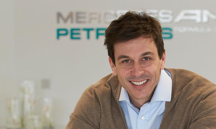 mercedes team toto wolff Wolff: F1 Rule Change Talk is Absurd