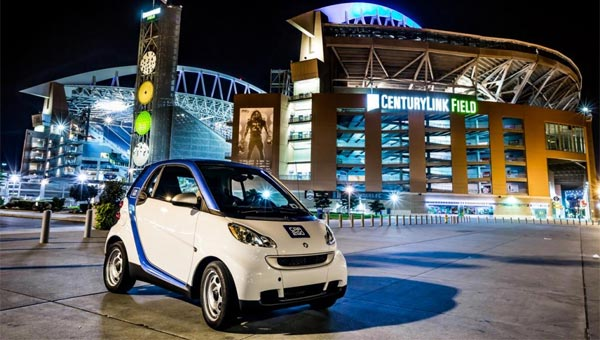 smart fortwo car2go Seattle first anniversary Car2go completes year one in Seattle
