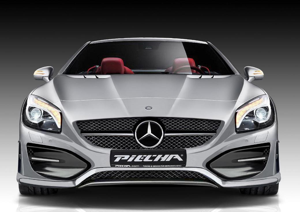 1 Images Of Mercedes Benz SL Avalange GT R From Piecha Design Unveiled