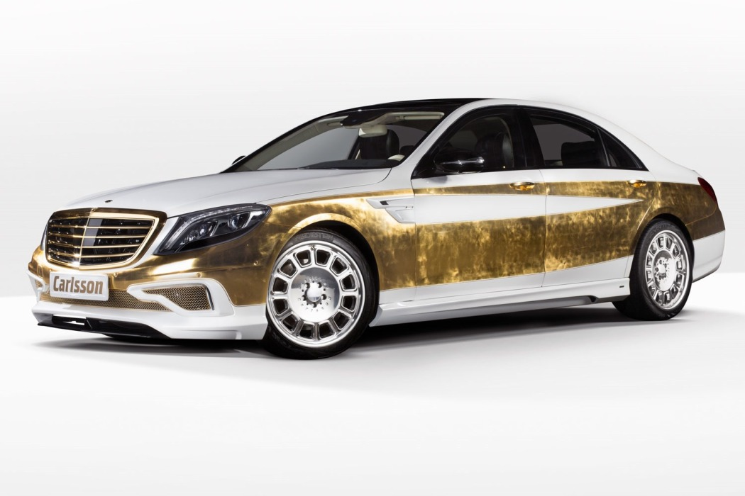 Carlsson Shows Off Gold-Trimmed CS50 Versailles Edition