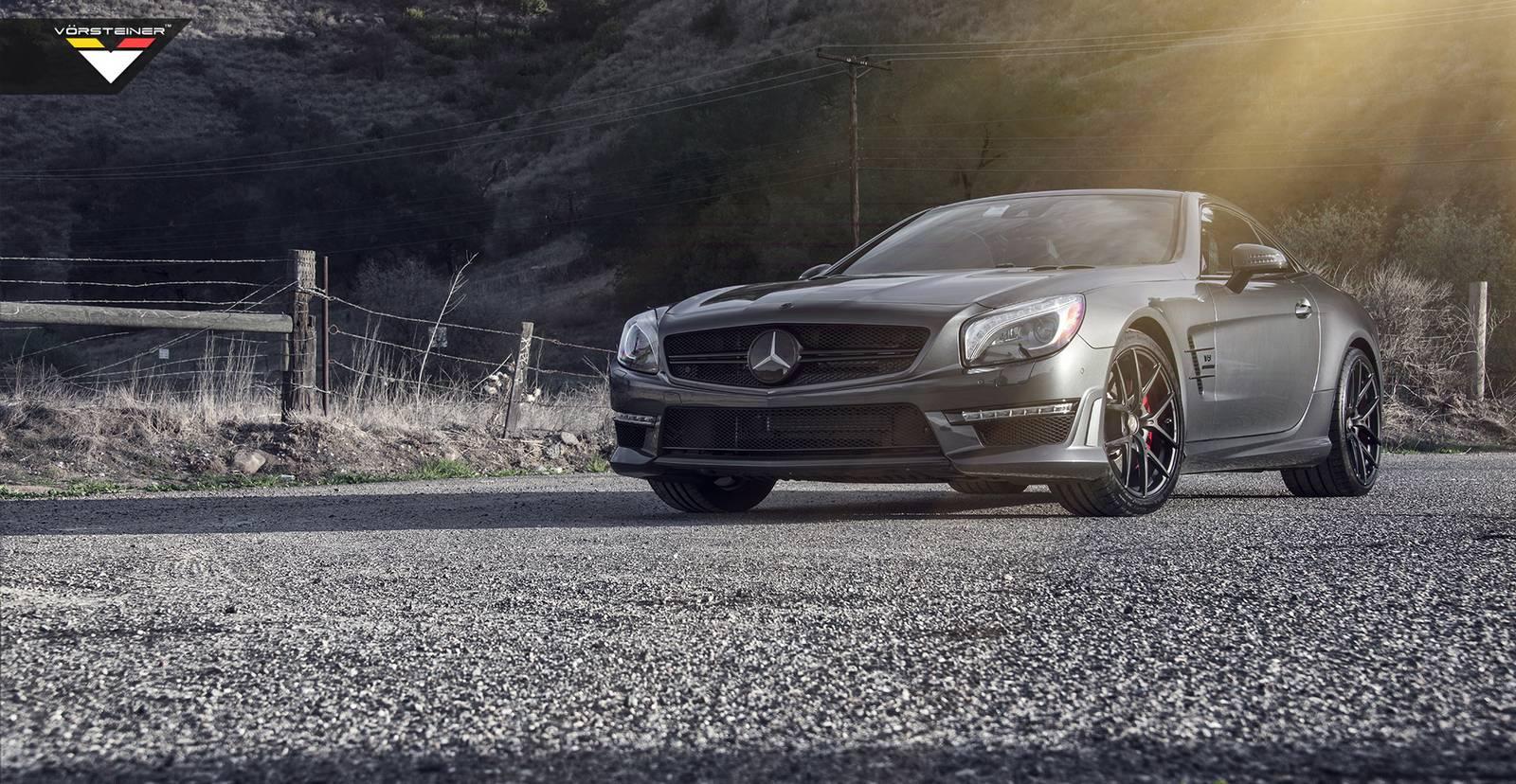 114 Vorsteiner Wheels Enhances 2014 Mercedes Benz SL63 AMG