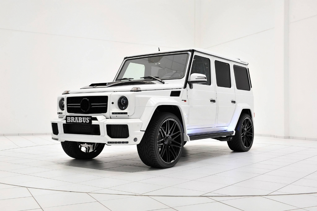 118 Mercedes Benz G63 AMG Given A Storm Trooper Look By Brabus