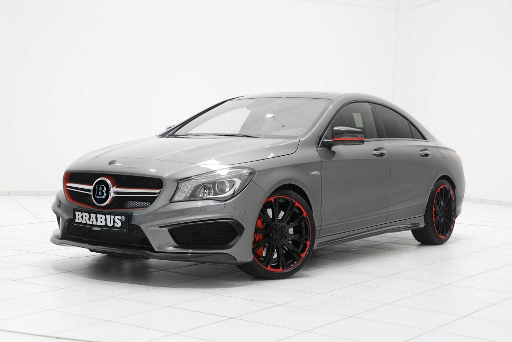 120 Mercedes Benz CLA 45 AMG Given Subtle But Powerful Enhancements By Brabus