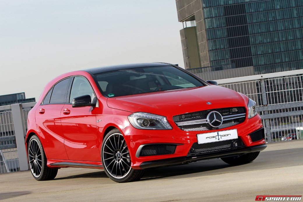 Engine Of Mercedes-Benz A45 AMG Enhanced By Posaidon