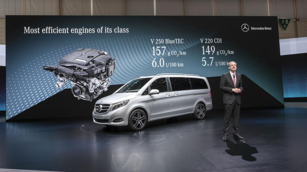 14C189 006 2015 Mercedes V Class Unveiling Video