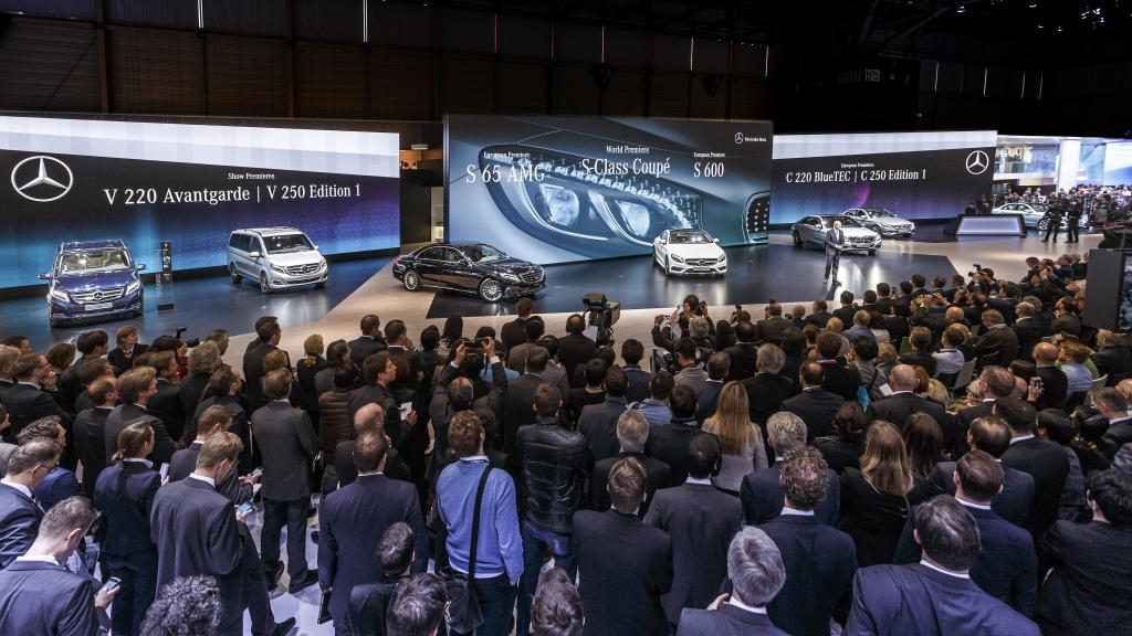 14C189 012 Mercedes Showcases Products at the 2014 Geneva Motor Show
