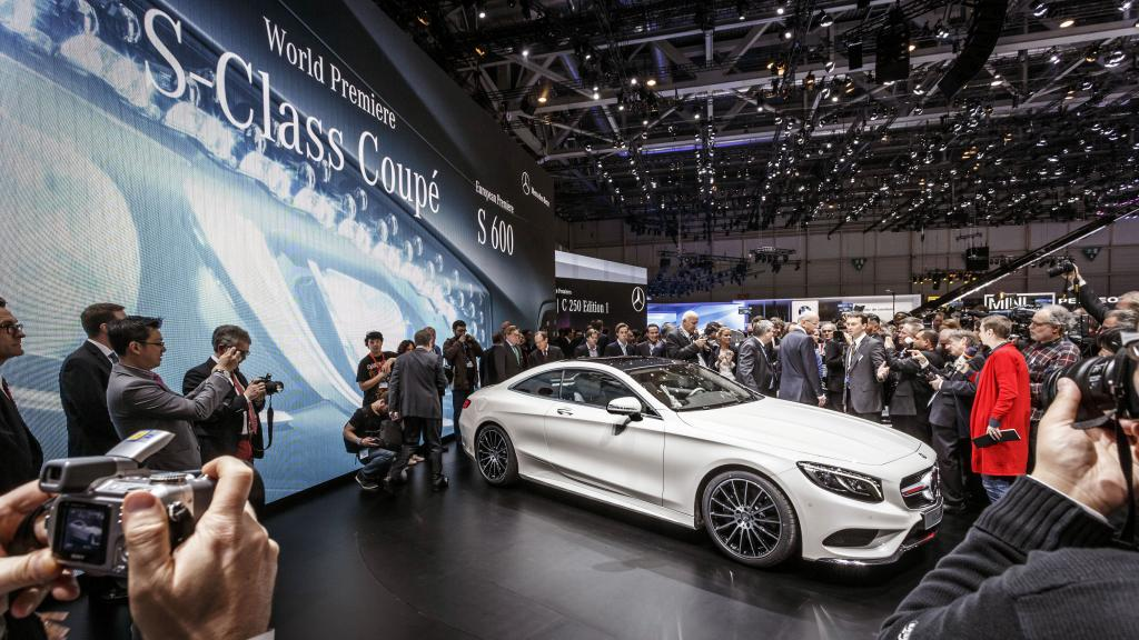 14C189 016 Mercedes Showcases Products at the 2014 Geneva Motor Show