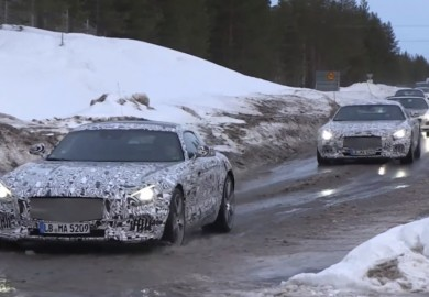 Mercedes-Benz AMG GT Prototype Spotted
