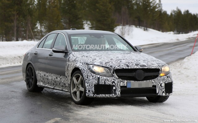 2015 Mercedes C63 AMG Revealing the 2015 Mercedes C63 AMG Spy Shots