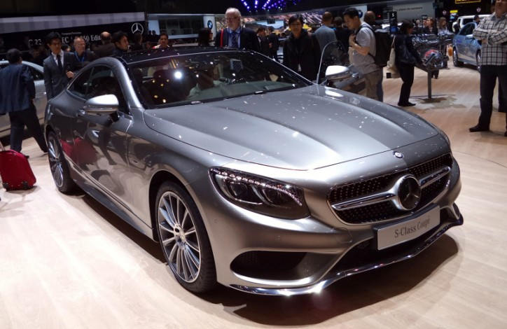 2015 Mercedes S Class Coupe 1 724x470 The Mercedes S Class Coupe is the Dream Car of Europeans