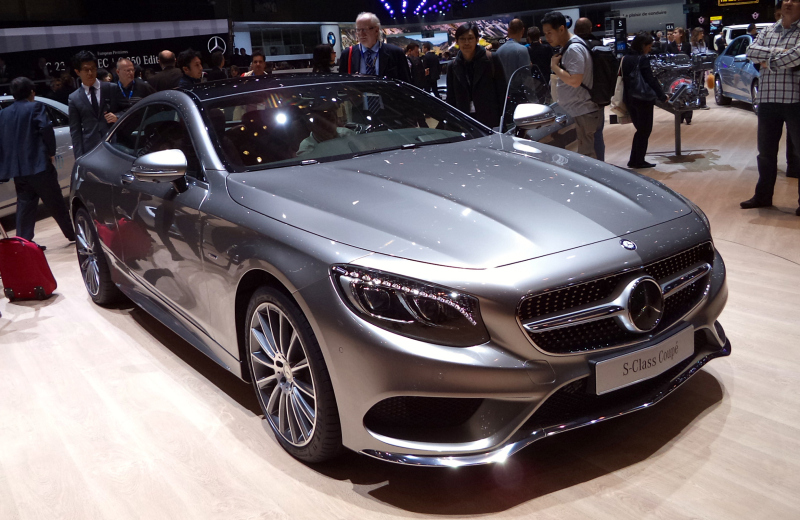 2015 Mercedes S Class Coupe 1 Mercedes Benz Reveals More Plans for Its S Class