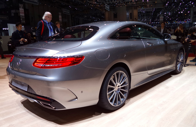 2015 Mercedes S-Class Coupe (2)