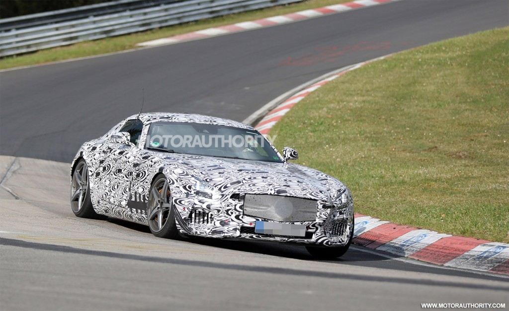 2015 mercedes benz amg gt c190 spy shots 100461538 l 2016 Mercedes AMG GT Spied in Nurburgring