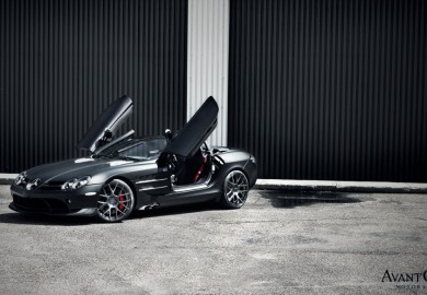 Garage Works Provide Mysterious Look To Mercedes-Benz McLaren SLR 722 S