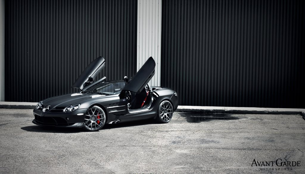 810 Garage Works Provide Mysterious Look To Mercedes Benz McLaren SLR 722 S