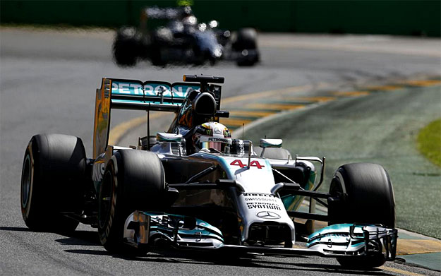 Mercedes AMG Petronas driver Lewis Hamilton wins 2014 Malaysian Grand Prix Hamilton wins Malaysian GP; Rosberg second for Mercedes one two finish