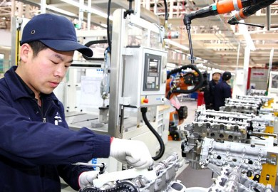 Mercedes-Benz-China-plant