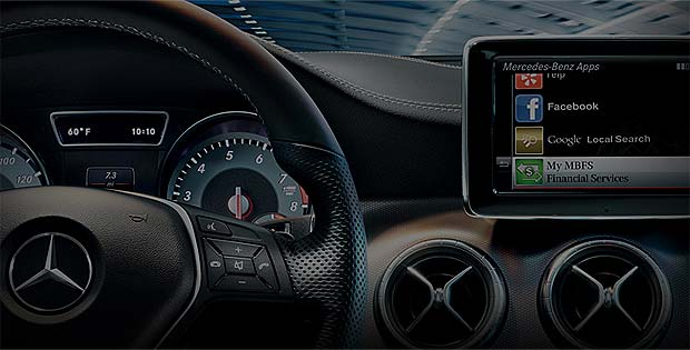 Mercedes Benz telematics infotainment mbrace Daimler accidentally leaks Google Projected Mode