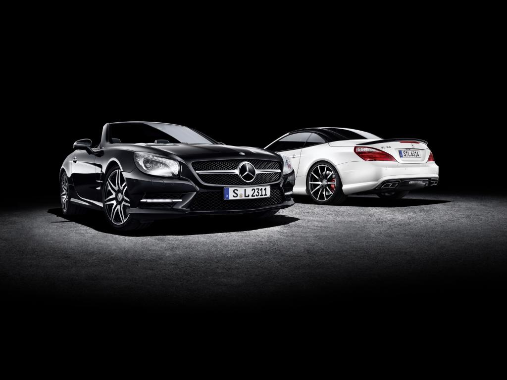 benzinsider 2 Mercedes Prepares SL 2LOOK Edition and SLK CarbonLOOK Edition for Spring