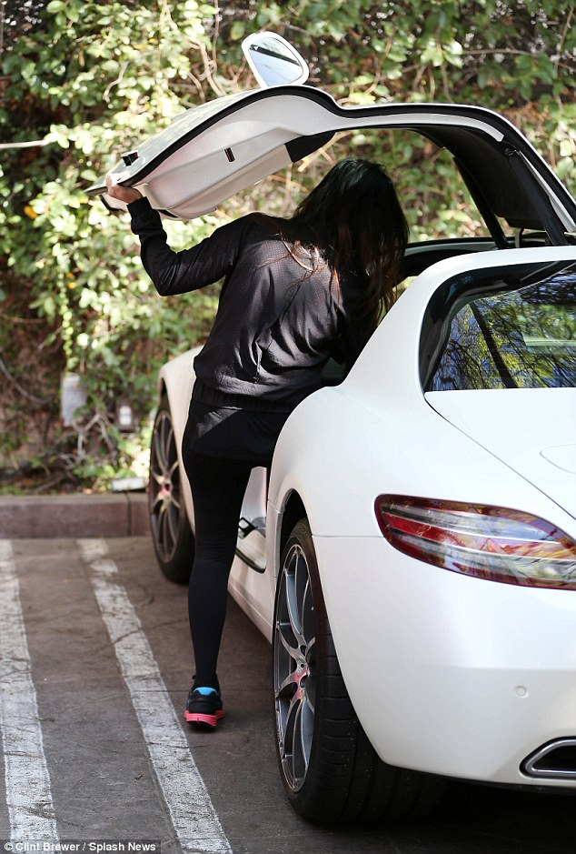 kourtney 2012 SLS AMG