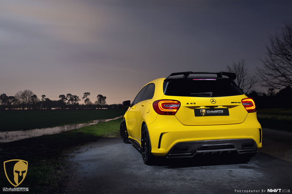 A Look At The Mercedes A45 Amg Project Of Revozport And