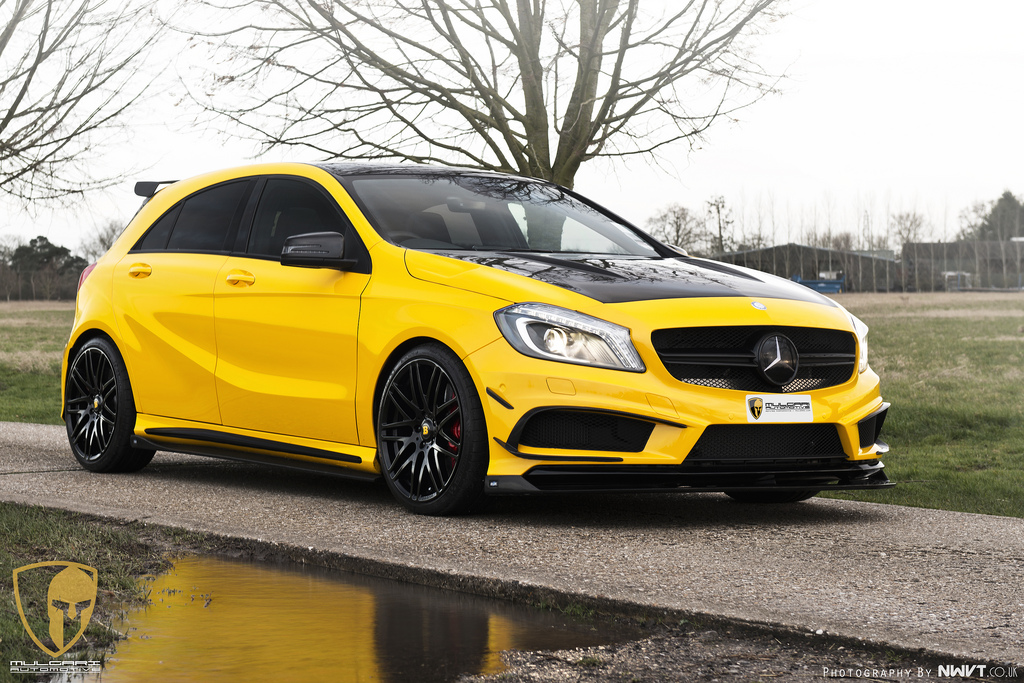 mercedes a45 amg 13 A Look at the Mercedes A45 AMG Project of RevoZport and Mulgari