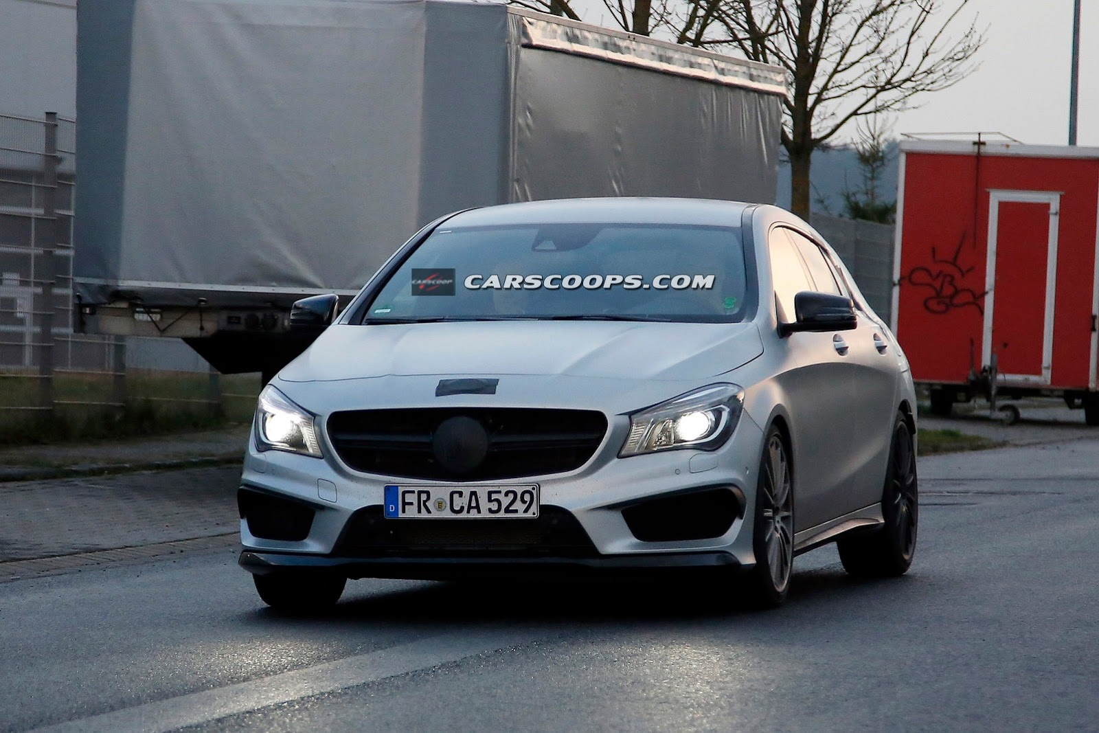 mercedes cla 45 amg shooting brake 1 Mercedes CLA 45 AMG Shooting Brake Spy Photos are Out
