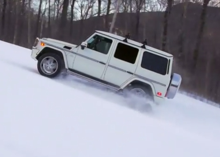 mercedes g63 amg Mercedes G63 AMG Displays Its Amazing Climbing Power