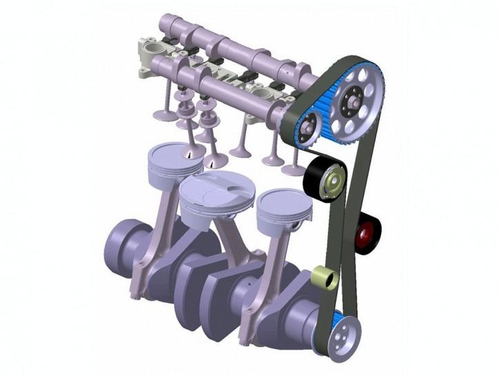 three-cylinder engines